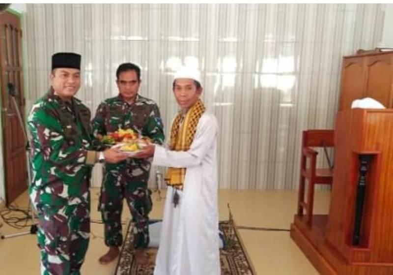 Danlanal Dabo Singkep Pimpin Doa Bersama Persiapan Latihan Glagaspur TK L-3 Koarmada 2020