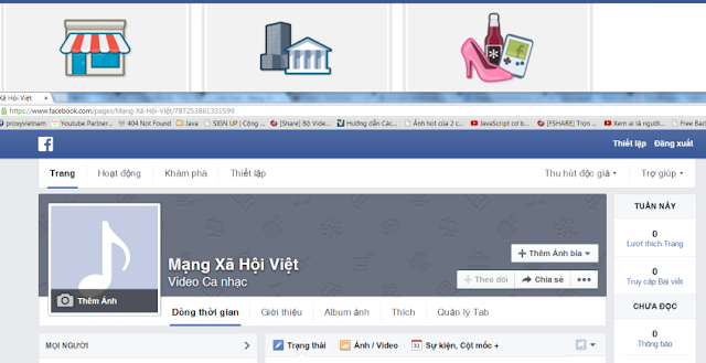 Chuyển tài khoản facebook từ profile sang fanpage