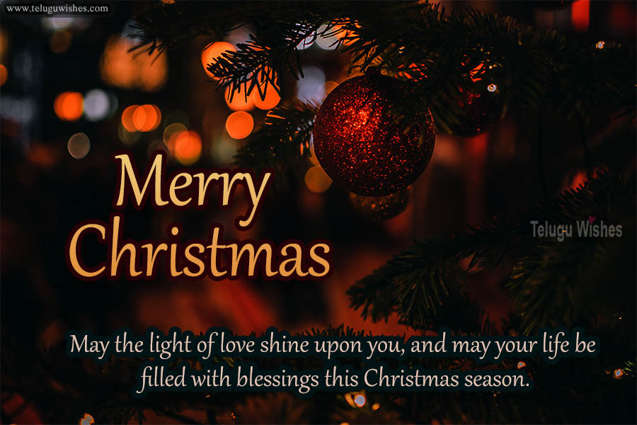 Religious Merry Christmas Wishes Images