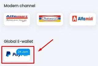 Metode Deposit Paypal