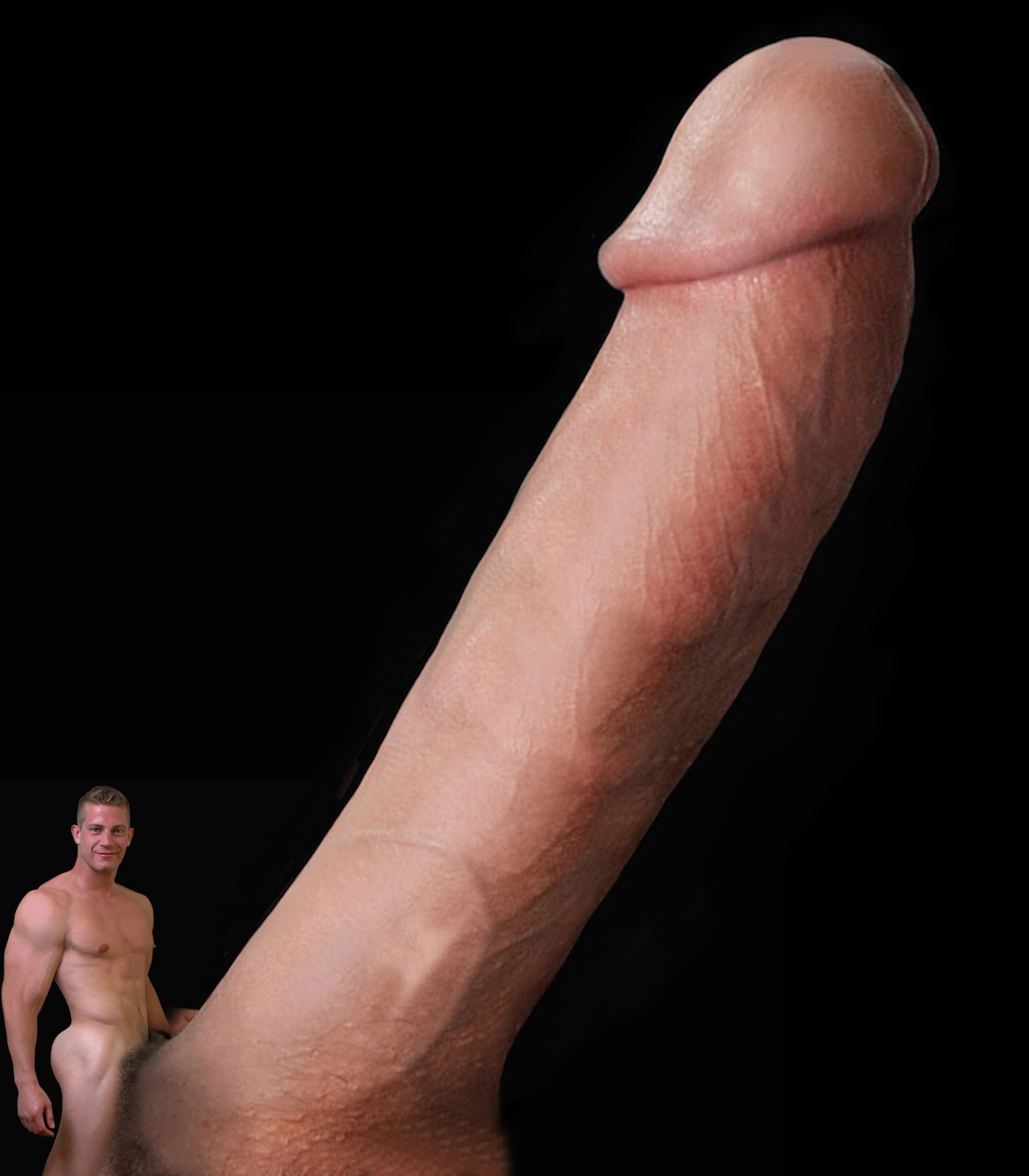 Giant naked dicks