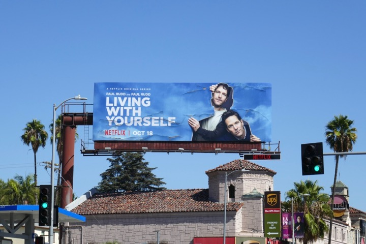 Living With Yourself Netflix series billboard