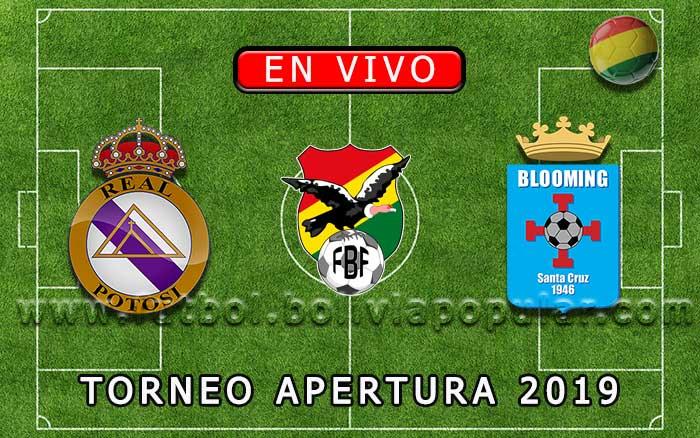 【En Vivo】Real Potosí vs. Blooming - Torneo Apertura 2019