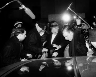 "Fat TonySalerno was ""pulled down"" – removed from the top spot of the Genovese crime family."