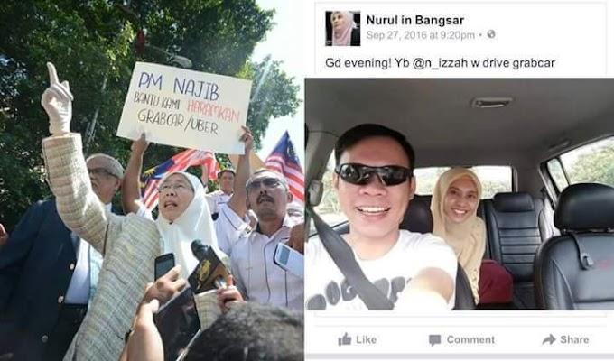 #PolitikBiol : Wan Azizah & Nurul Izzah Perbodohkan Pemandu Teksi