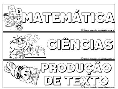 Rotina , Ensino fundamental, sala de aula, disciplinas,