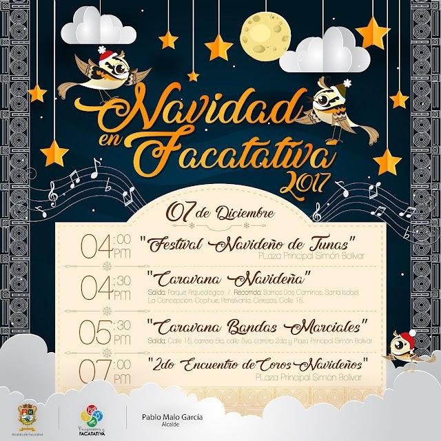 Este jueves gran desfile de navidad y festival de coros en Facatativá