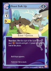 MLP Beast Bulk Up Absolute Discord CCG Card