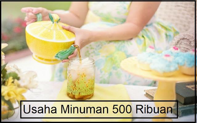 rekomendasi usaha minuman modal 500 ribu