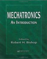 Mechatronics introduction Robert H. Bishop - 1ed