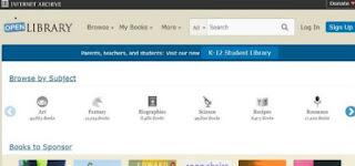 open library-perpustakaan online yang dapat diakses secara elektronik