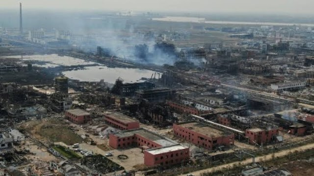 China's chemical plant explosion death toll rises to 78