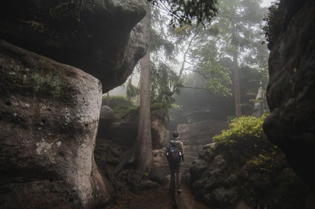 Zwiedzając Dolny Śląsk - Park Narodowy Gór Stołowych