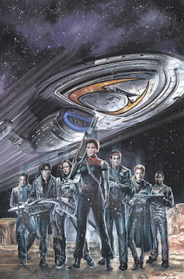 IDW Star Trek Voyager Comic Book