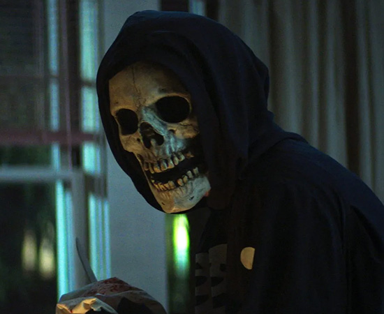 Esqueleto do filme Rua do Medo: 1994