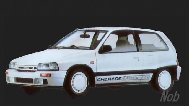 Daihatsu Charade de Tomaso G100 concept. photo by Nob