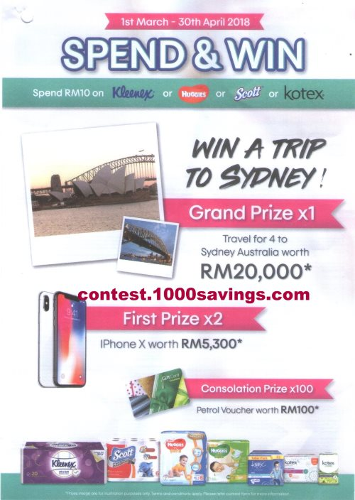 travel channel 10 000 sweepstakes spend rm10 win a trip for 4 to sydney worth up to rm20 922