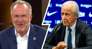 'I almost choked': Bayern CEO Rummenigge reveals his reaction to Barca €1b debt