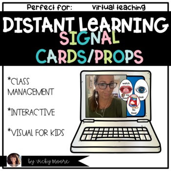 visual props for distant learning