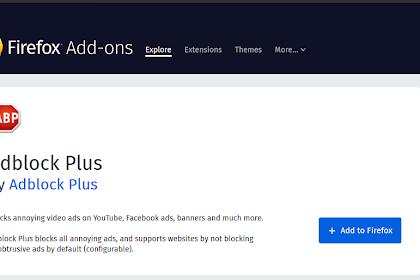 Cara Menghilangkan Iklan di Browser dengan Adblock Plus