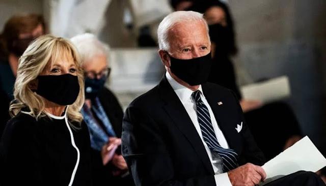 Biden y su esposa Jill dan negativo a prueba de Covid-19