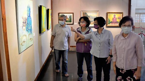 彰化大佛一甲子在彰化藝術館 展出縣民共同文化記憶
