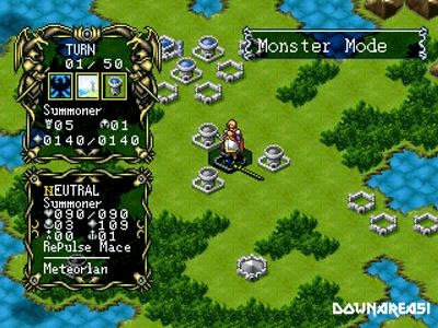 Master of Monster Disciples of Gaia PS1