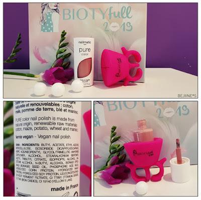 "BIOTYfull Box ""Enveloppante Cocooning"" vernis nail matic"