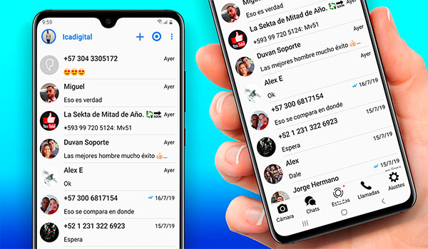 Nuevo Whatsapp Estilo iPhone 2019