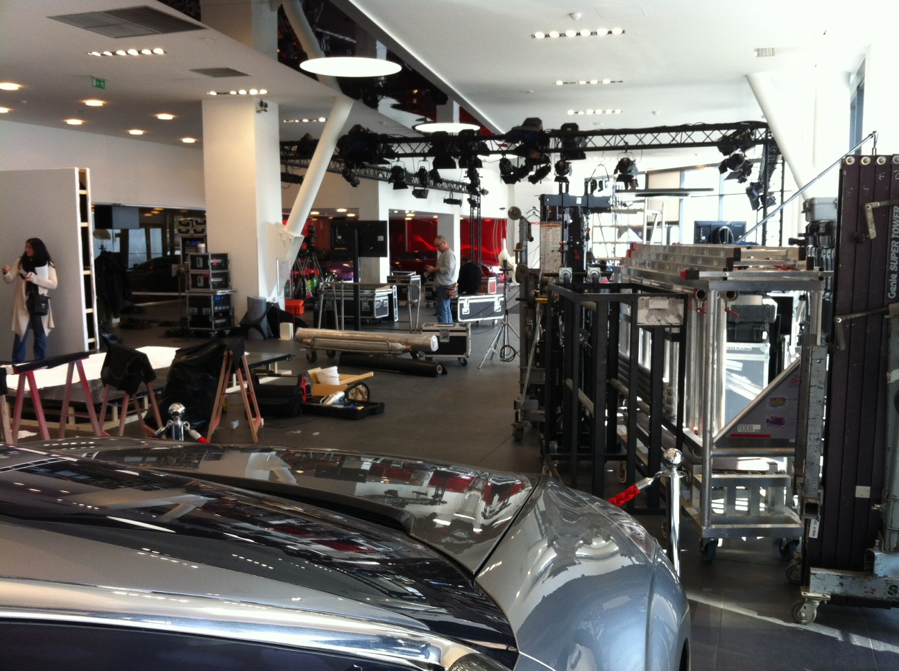 Garage Auto Aubervilliers My E Life Now Citroen Headquaters Showroom Closed Shooting