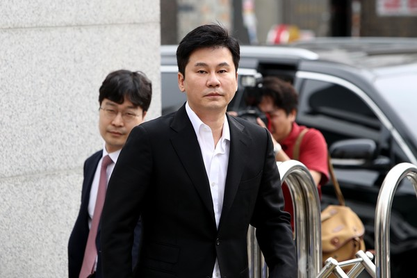Yang Hyun Suk was Stated Not Guilty in The Case of Providing Prostitution Services