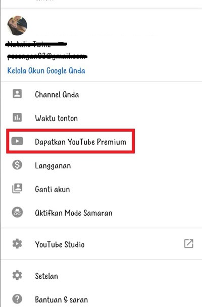 Youtube Premium Gratis Selamanya