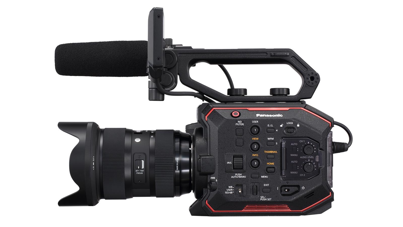 Кинокамера Panasonic AU-EVA1