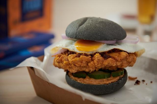 myBurgerLab x Mama Manta 'Flamin' Hot Sambal Burger