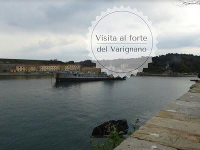 Panorama della baia del Varignano