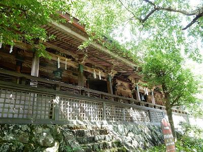 吉野山:吉野水分神社本殿