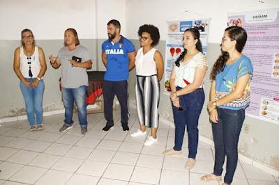 CRUZ DAS ALMAS: Governo do Povo promove ação de saúde para os agentes de limpeza pública