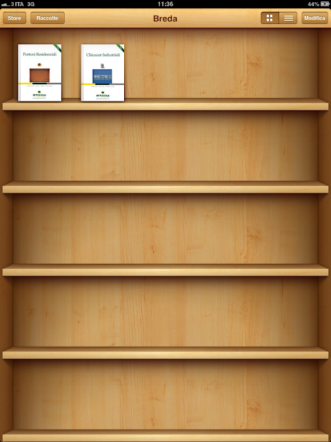 iBooks Breda su iPad