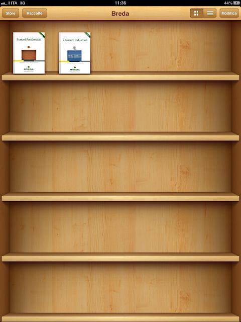 iBooks Breda su iPad