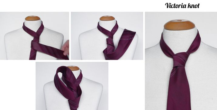Victoria tie knot instructions