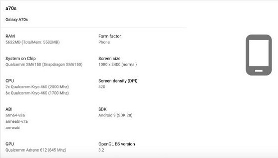 Samsung-Galaxy-A70S-Specs-google