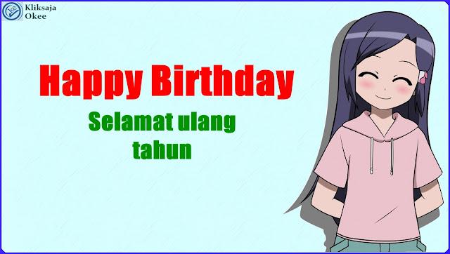 Lirik dan Terjemahan back number - HAPPY BIRTHDAY Indonesia
