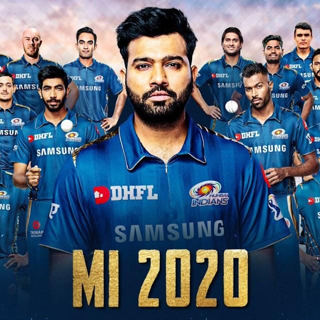 IPL 2020 Mumbai Indians