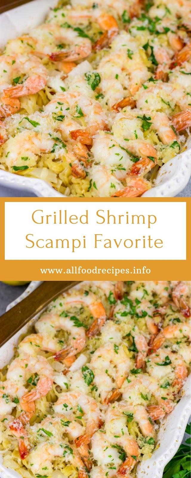 Grilled Shrimp Scampi Favorite