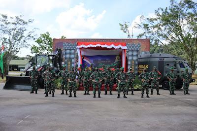 Kunjungi Yonzipur 6/SD, Pangdam XII/TPR;  Prajurit Zeni Harus Berkreasi dan Inovatif