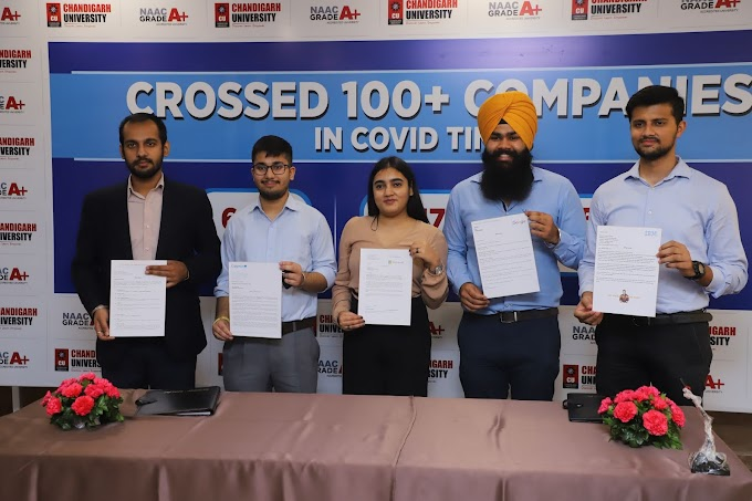 Chandigarh University registers record number of multinationals conducting virtual recruitment drives during lockdown phase