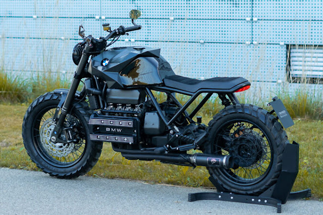 BMW K100 Modified by Crooked Motorcycles
