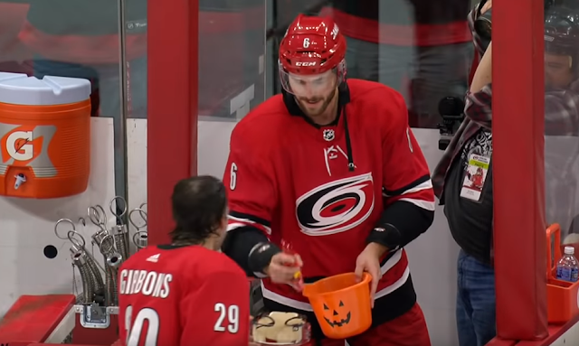 Carolina Hurricanes trick-or-treat Storm Surge 10/29/2019