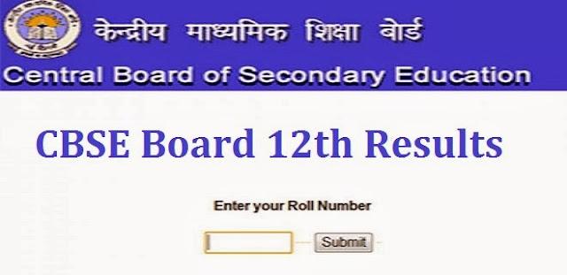 CBSE Board 12th Result 2017