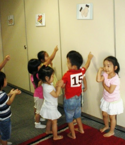 Find me! Games for Warming Up or Closing Time in English Class for Young Learners